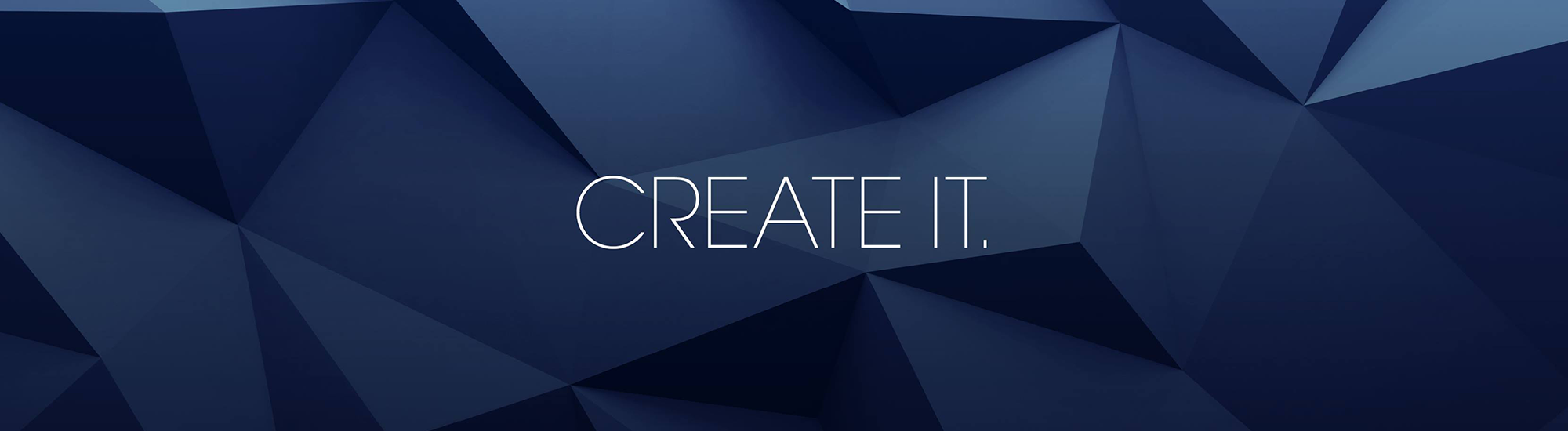 CREATE IT Banner